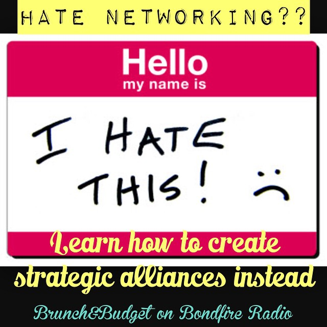 hate networking nametag