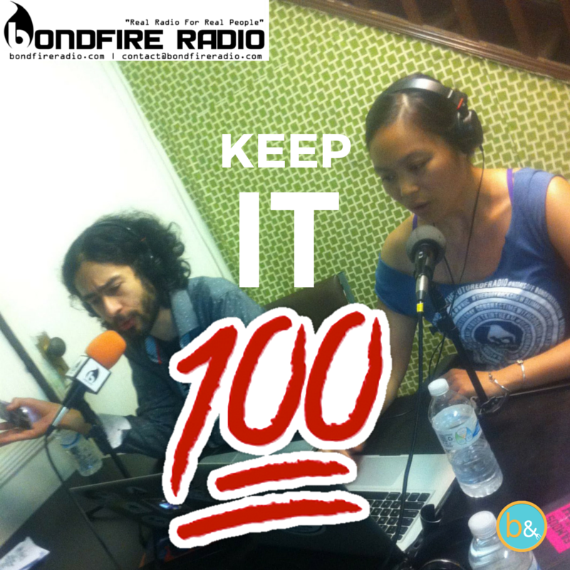 """Keep it 100"" Pam & Dyalekt"