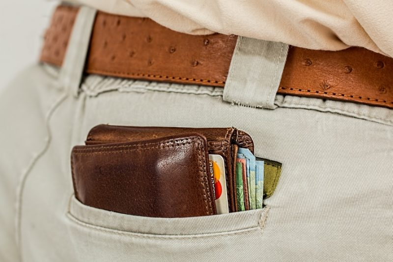 fat wallet in pocket