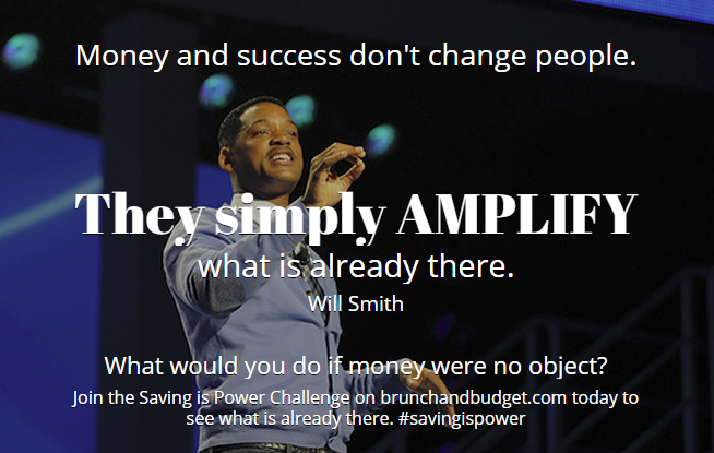 Will Smith: Money/success amplifies people
