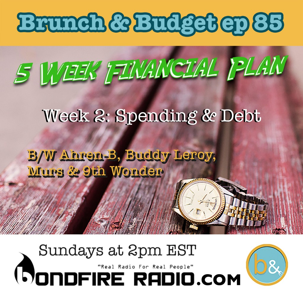5 Week Financial Plan Week 2: Spending & Debt
