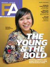 Financial Advisor Magazine Cover